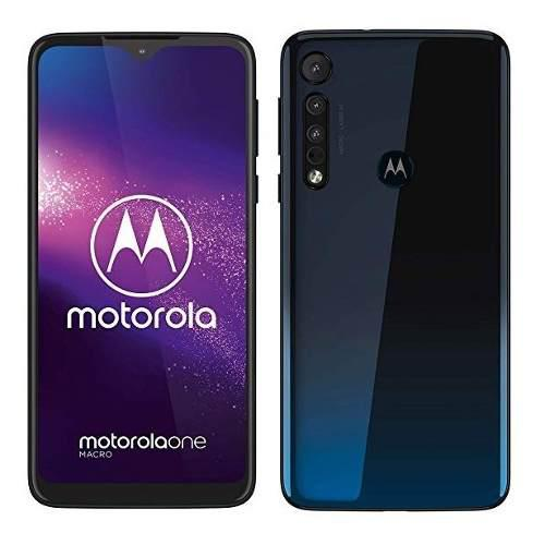 Motorola Moto One Macro 6.2 Rom 64gb 4 Ram Camara Triple