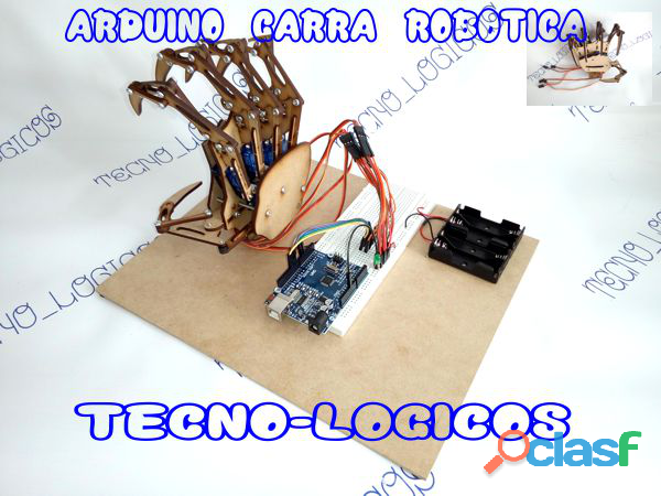 Arduino Garra Robotica