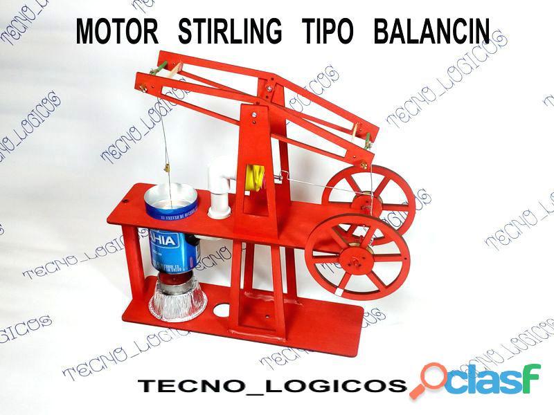 Motor Stirling Balancing