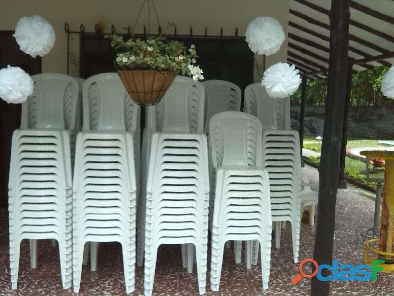 Alquiler de sillas en santa marta para tus eventos y fiestas