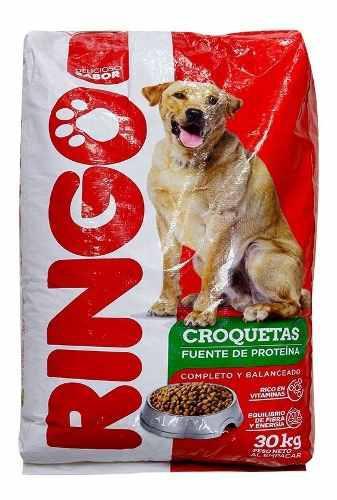 Ringo croquetas x 30 kilos alimento par - kg a $277
