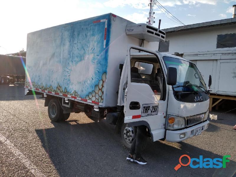 Vendo camión jac 1048 con termoking modelo 2015 74 km magnífico estado