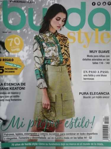 Burda Style 02/2020 - Moda A Tú Medida. Con Patrones