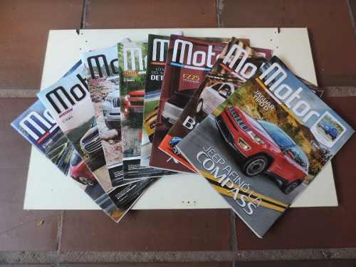 Colección Revistas Motor Números Del 539-730, 215 Revistas