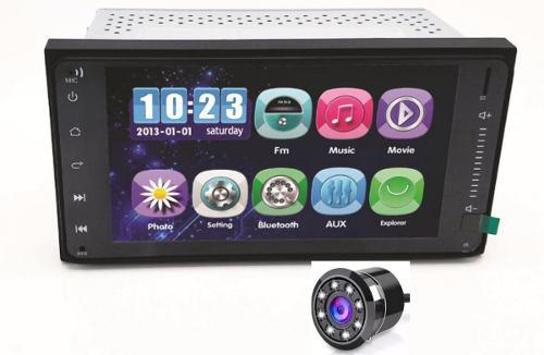 Radio Carro Toyota 7 Pulgadas Mirrorlink Cam Gratis Md 2019
