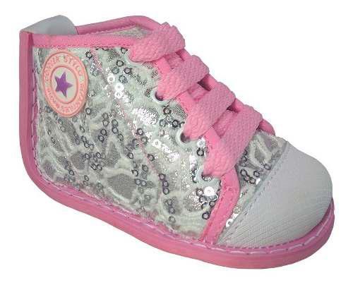 Tenis converse para bebe niña zapatos no tuerce