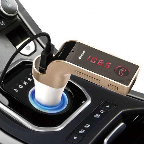 Transmisor fm modulador de carro g7 bluetooth micro sd - usb