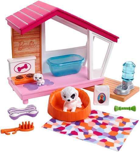 Barbie Accesorios Casa Perrito Muñecas Muebles De Interior