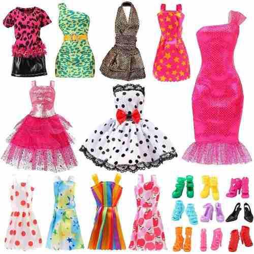 Barbie accesorios de ropa para muñecas de 11 pulgadas