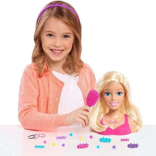 Barbie fashionistas peinados y accesorios glam mattel gmv35
