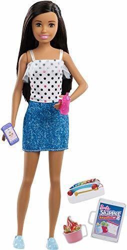 Barbie Skipper Niñeras Inc Muñeca Y Accesorios