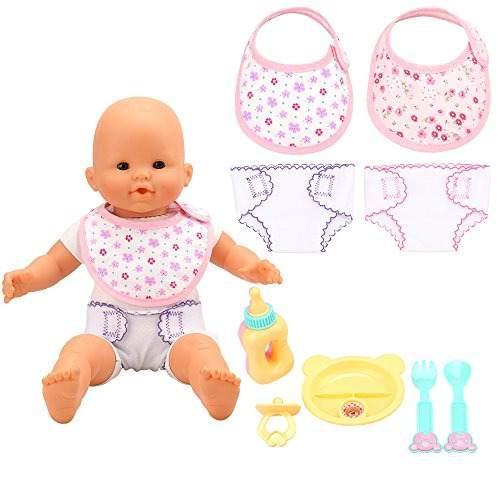 Barwa Baby Alive Juego De 4 Accesorios Para Munecas De Bebe