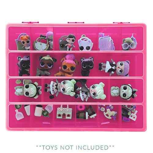 Caja Organizadora Para Muñecas Y Accesorios