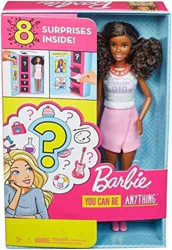 Carreras Sorpresa Barbie Con La Muñeca Y Los Accesorios, M