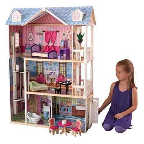 Casa de muñecascon muebles accesorios niñas kidkraft