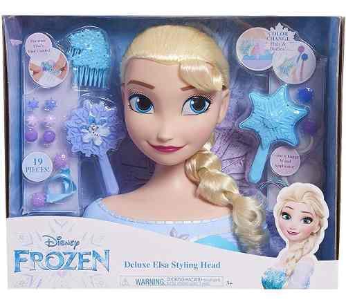 Disney Frozen 2 Peina A Elsa Muñeca Accesorios Juguete