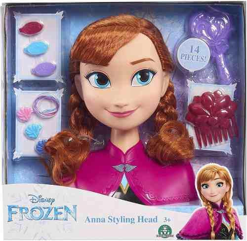 Disney frozen 2 styling peina a anna accesorios juguete niñ
