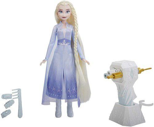 Disney frozen styles peina a elsa accesorios juguete niñas