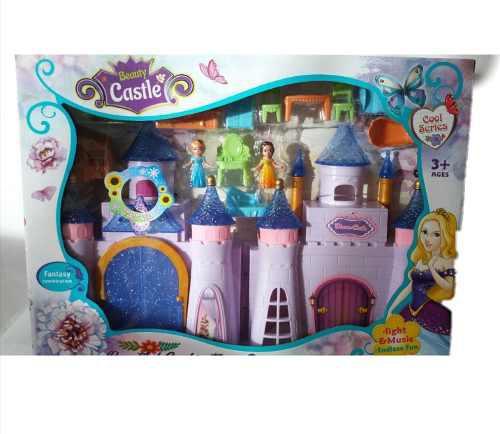 Juguete Casa De Muñecas Princesas Con Accesorios #234