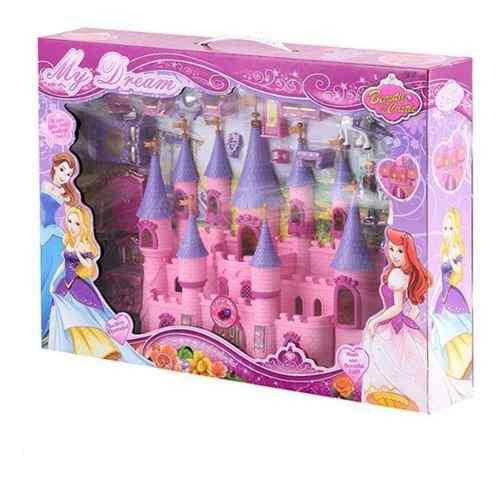 Juguete castillo muñecas y accesorios take my home castle