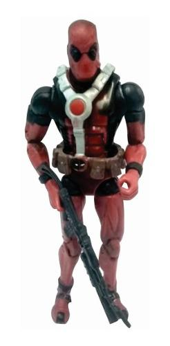Muñeco Deadpool Articulado Con Accesorios