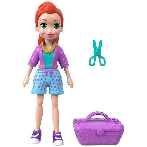 Polly pocket muñeca y accesorios mattel