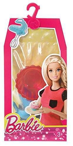 Set De Accesorios Para Casa De Muñecas Barbie Cupcake Bakin