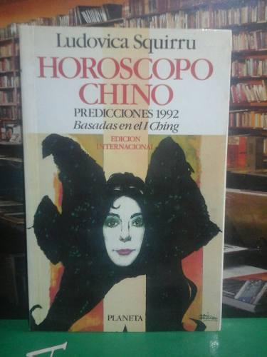 Horoscopo Chino, Ludovica Squirru, Esoterismo, Astrología.
