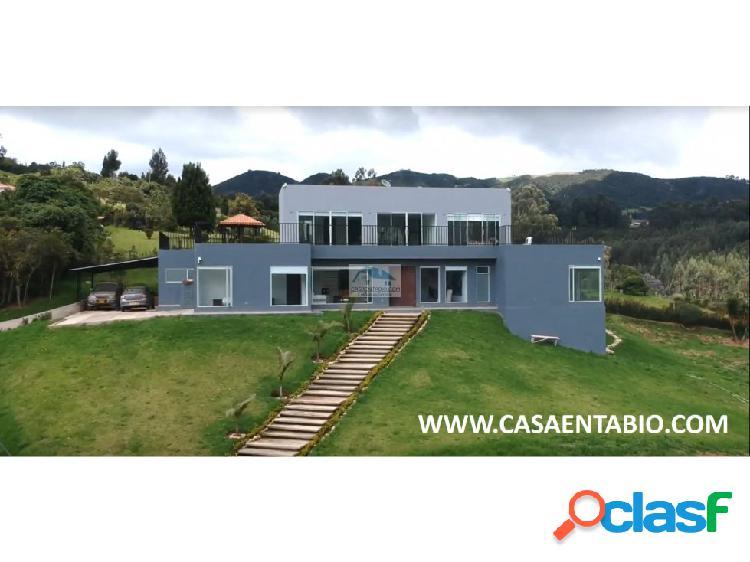 Vendo Espectacular Casa en Tabio Rio Frio Oriental 1