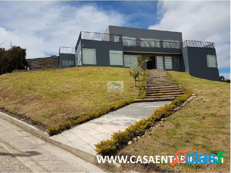 Vendo Espectacular Casa en Tabio Rio Frio Oriental 2