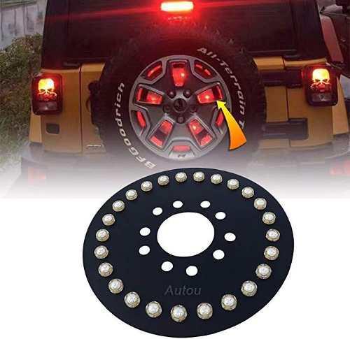 Jeep Wrangler Accesorios Autou Tire Luz Led Tercera Luces D