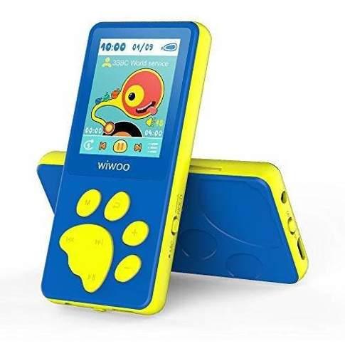 Wiwoo kids reproductor de mp3, reproductor de musica portati