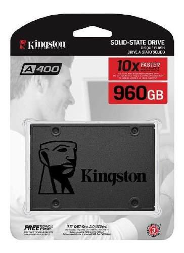 Disco solido kingston ssd a400 960 gb sata 6gb/s factura leg