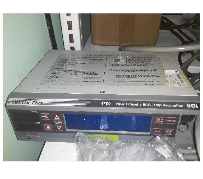 Oximetría de Pulso ECG TemperaturaRespiración SDI VetOx P