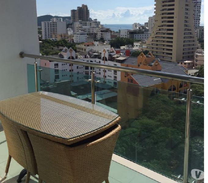 Alquiler apartamentos santa marta 3104024609 amoblados vista