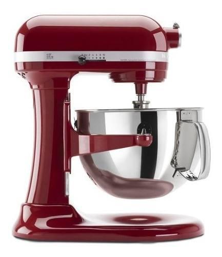 Batidora profesional roja 5,7 lts 120 v - kp26m1xer kitchena