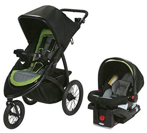 Coche + porta bebé graco road master jogger, hudson