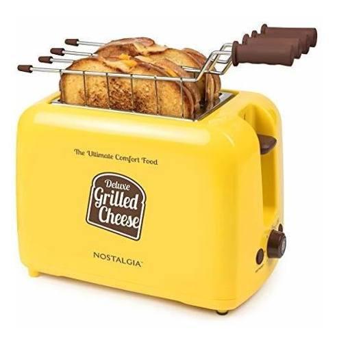 Nostalgia gct2 tostadora de pan sanduchera electrica