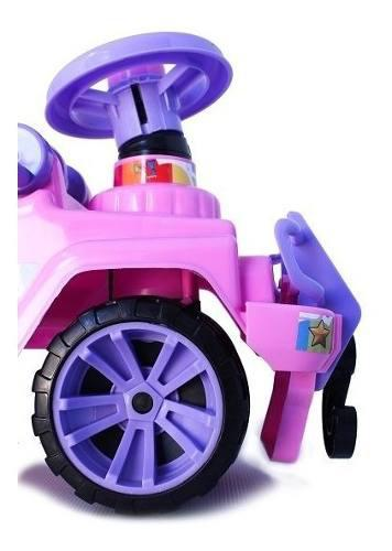 Montable version jeep edicion full para niña marca boy toys