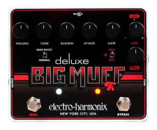 Pedal distorsion marca electro harmonix deluxe big muff pi