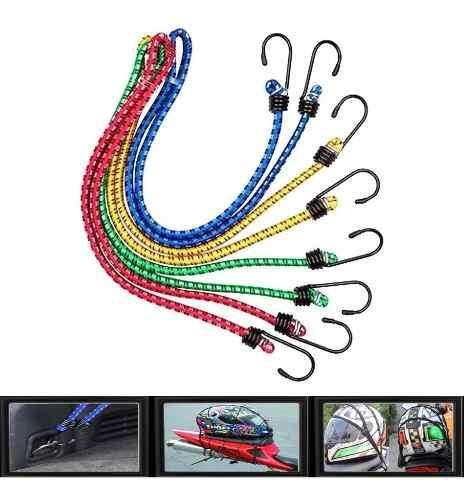 Pulpo elastico sencillo moto deportes amarre cuerda malla