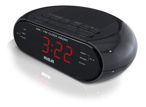 Radio reloj despertador am fm marca rca original rc205