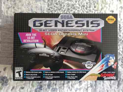 Sega genesis mini nuevo