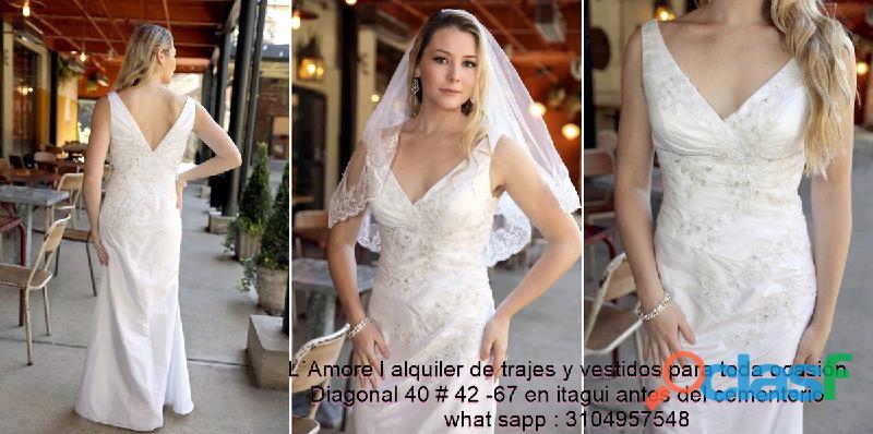 El mejor lugar para alquilar tu vestido de novia en itaguí.