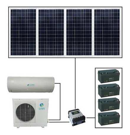 Aire acondicionado solar 9000btu