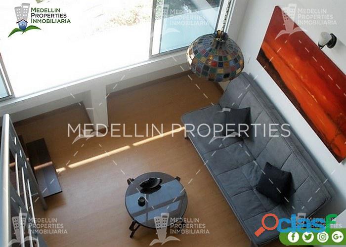 Alquiler de apartamentos amoblados en envigado cód: 4113