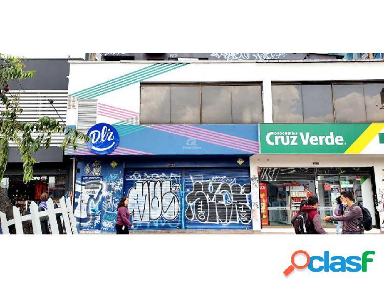 Arriendo local comercial sobre avenida caracas