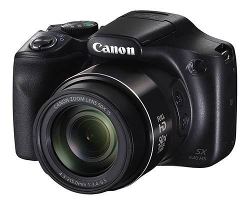 Cámara canon powershot sx540 hs 20,3 mpx full hd.