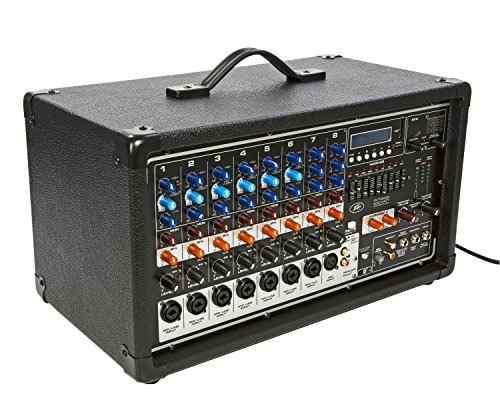 Peavey Pvi8500 400watt 7channel Powered Mixer Numero De Arti