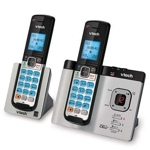 Telefono inalambrico contestador altavoz bluetooth identif